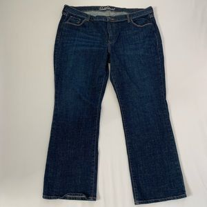 Old Navy The Sweetheart Bootcut Dark Wash Jeans